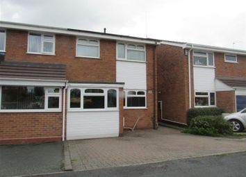 Thumbnail 3 bed semi-detached house to rent in Rosewood Close, Tamworth, Staffordshire