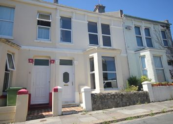 Thumbnail 2 bed terraced house to rent in First Avenue, Stoke, Plymouth