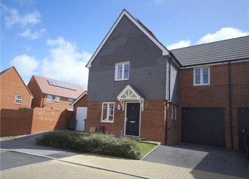 Thumbnail 3 bed link-detached house for sale in Whiteland Way, Clanfield, Waterlooville