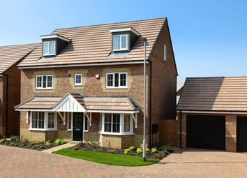 "Thumbnail 5 bed detached house for sale in ""Warwick"" at Eldon Way, Crick Industrial Estate, Crick, Northampton"