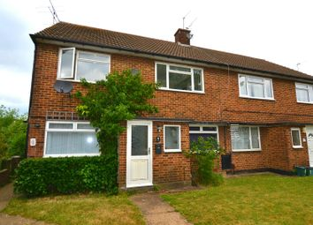 Thumbnail 2 bed maisonette for sale in Meadow Close, London Colney, St.Albans