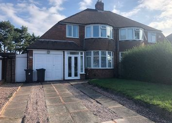 Thumbnail 3 bed semi-detached house to rent in Halton Road, Sutton Coldfield