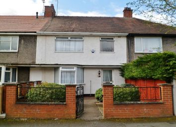 Thumbnail 3 bed terraced house for sale in Warwick Avenue, Wrexham