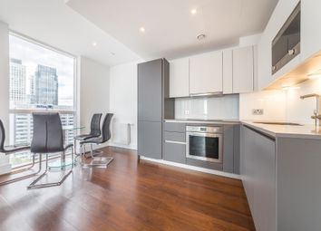 Thumbnail 1 bed flat to rent in Maine Tower, Harbour Central, 9 Harbour Way, Canary Wharf, London