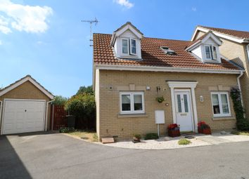 Thumbnail 2 bed semi-detached house for sale in St. Andrews Close, Sutton, Ely