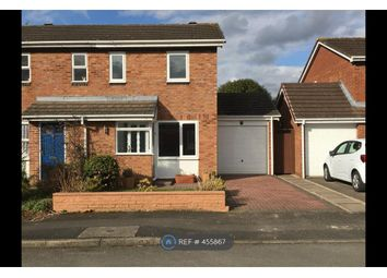 Thumbnail 2 bed semi-detached house to rent in Deanbrook Close, Shirley, Solihull