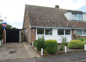 Thumbnail 2 bedroom bungalow to rent in Millfield Avenue, Stowmarket, Suffolk