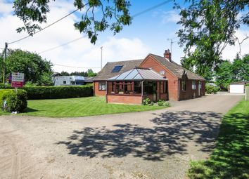Thumbnail 4 bed detached bungalow for sale in Vicarage Road, Deopham, Wymondham