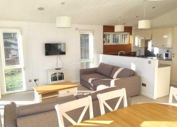 Thumbnail 3 bed lodge for sale in Pwllheli, Gwynedd, North Wales