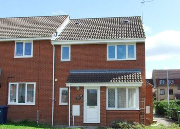Thumbnail 1 bedroom end terrace house to rent in Tamar Close, St. Ives, Huntingdon