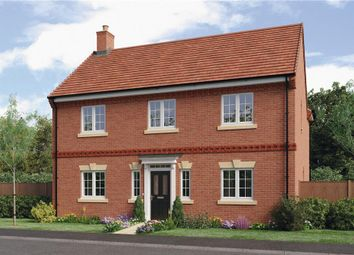 "Thumbnail 4 bed detached house for sale in ""Birchwood"" at Burton Road, Streethay, Lichfield"