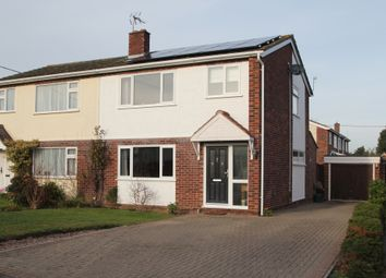 Thumbnail 3 bed semi-detached house for sale in Hines Close, Aldham, Colchester, Essex