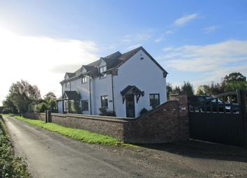 Thumbnail 3 bed detached house for sale in Watery Lane, Haughton, Stafford