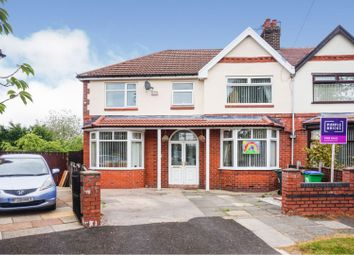Thumbnail 4 bed semi-detached house for sale in Greenway, Manchester