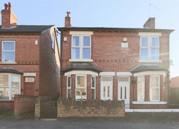 Thumbnail 2 bed semi-detached house for sale in Wilton Street, Old Basford, Nottingham