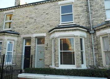 Thumbnail 2 bed terraced house to rent in Alma Terrace, York