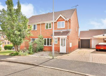 Thumbnail 3 bed semi-detached house for sale in Violet Way, Scarning, Dereham