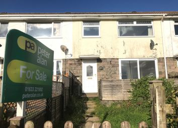 Thumbnail 3 bed terraced house for sale in Quantock Close, Risca, Newport