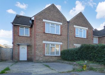 Thumbnail 3 bed semi-detached house for sale in Hill Road, Littlehampton