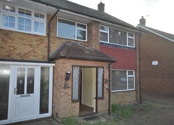 Thumbnail 3 bed semi-detached house to rent in Astra Drive, Gravesend
