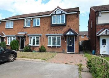 Thumbnail 2 bedroom end terrace house for sale in Burdock Close, Walsall