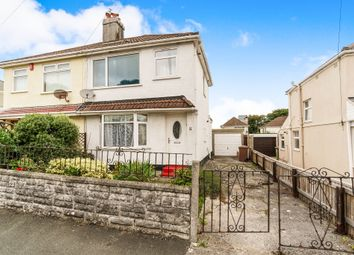 Thumbnail 3 bedroom semi-detached house for sale in Ashburnham Road, West Park, Plymouth