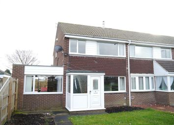 Thumbnail 3 bed end terrace house for sale in Redshank Drive, Blyth