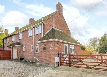 Thumbnail 3 bed semi-detached house for sale in Southend, Cold Ash, Thatcham, Berkshire
