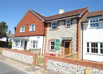 Thumbnail 2 bed terraced house for sale in Sea Road, East Preston, Littlehampton, West