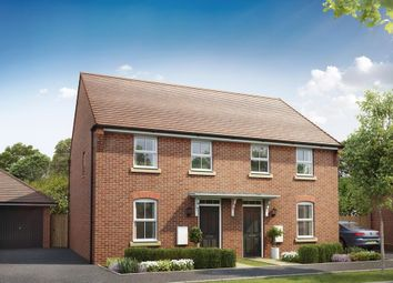 "Thumbnail 3 bedroom semi-detached house for sale in ""Washford"" at Harlequin Drive, Worksop"
