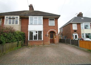 Thumbnail 3 bed semi-detached house for sale in Melbourne Road, Ipswich, Suffolk