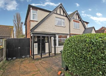 Thumbnail 3 bed semi-detached house for sale in Freda Avenue, Gedling, Nottingham