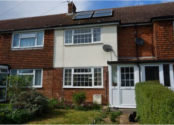 Thumbnail 2 bed terraced house for sale in Pear Tree Close, Burgess Hill