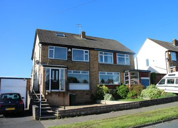 Thumbnail 4 bed semi-detached house for sale in Brantwood Drive, Bradford