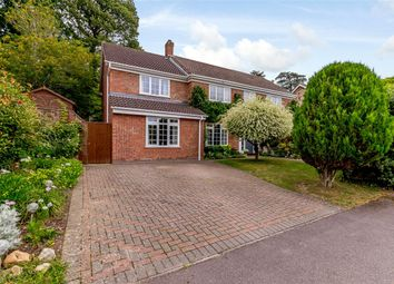 Thumbnail 4 bed detached house for sale in Normay Rise, Newbury, Berkshire