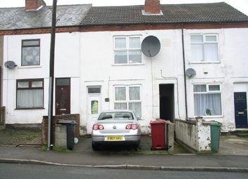 Thumbnail 2 bed terraced house for sale in Water Lane, South Normanton, Alfreton