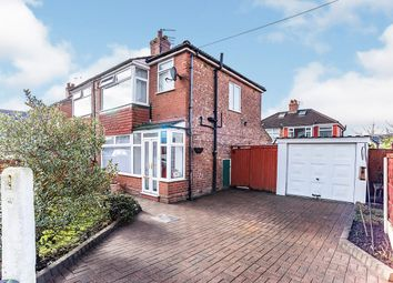 Thumbnail 3 bed semi-detached house for sale in Gibson Avenue, Gorton, Manchester, Greater Manchester