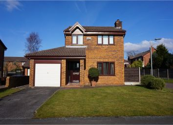 Thumbnail 3 bed detached house for sale in Chiswick Drive, Manchester