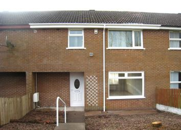Thumbnail 3 bedroom terraced house to rent in Ballycraigy Gardens, Newtownabbey