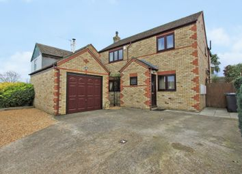 Thumbnail 4 bed detached house for sale in Chapel Road, Earith, Huntingdon