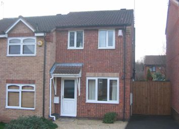 Thumbnail 2 bed semi-detached house to rent in Lodgefield Road, Halesowen, West Midlands