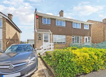 Thumbnail 3 bed semi-detached house for sale in Farman Close, Swindon, Wiltshire