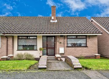 Thumbnail 2 bed semi-detached bungalow for sale in Saxon Close, Great Wyrley, Walsall