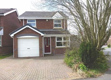 Thumbnail 3 bed detached house to rent in Millbrook Way, Cheadle, Stoke-On-Trent