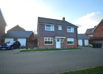 Thumbnail 4 bed detached house for sale in Cowslip Way, Andover