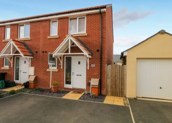 Thumbnail 2 bed end terrace house for sale in Northwood Acres, Cranbrook, Exeter