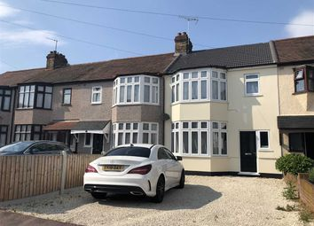 Thumbnail 4 bedroom terraced house to rent in Gorseway, Rush Green, Romford