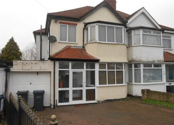 Thumbnail 3 bedroom semi-detached house for sale in Kegworth Road, Erdington, Birmingham