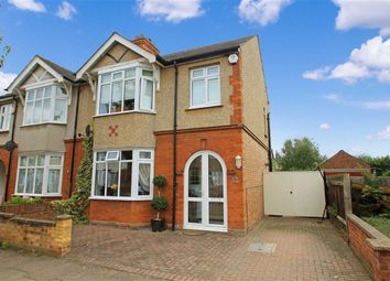 Thumbnail 3 bed semi-detached house for sale in Harvey Road, Bedford
