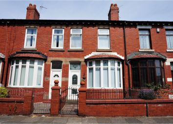 Thumbnail 2 bed terraced house for sale in Cromwell Road, Blackpool